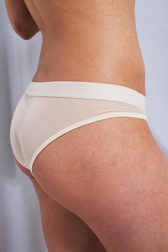Negative Underwear Peach Silky Briefs