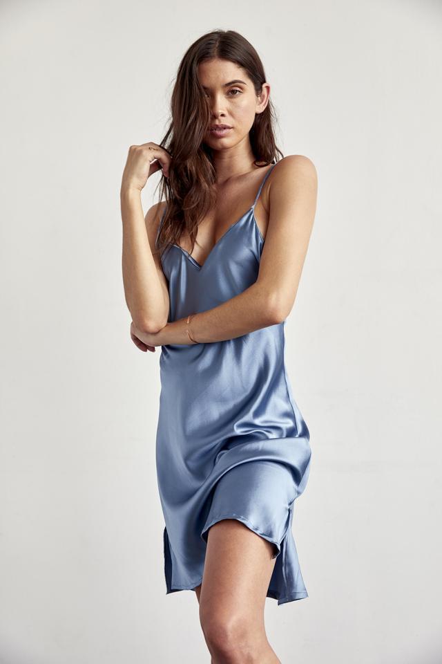 Larissa Kate Silk Slip Dress