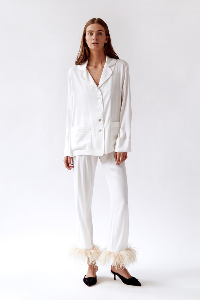 Sleeper White Pajama Set