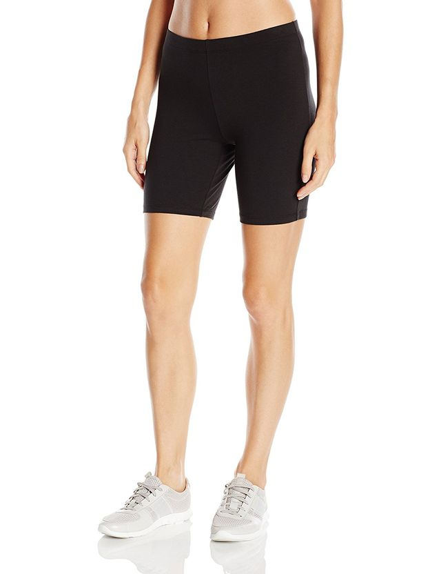 Hanes Stretch Jersey Bike Short