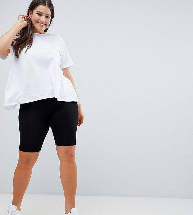 ASOS DESIGN Curve basic legging shorts
