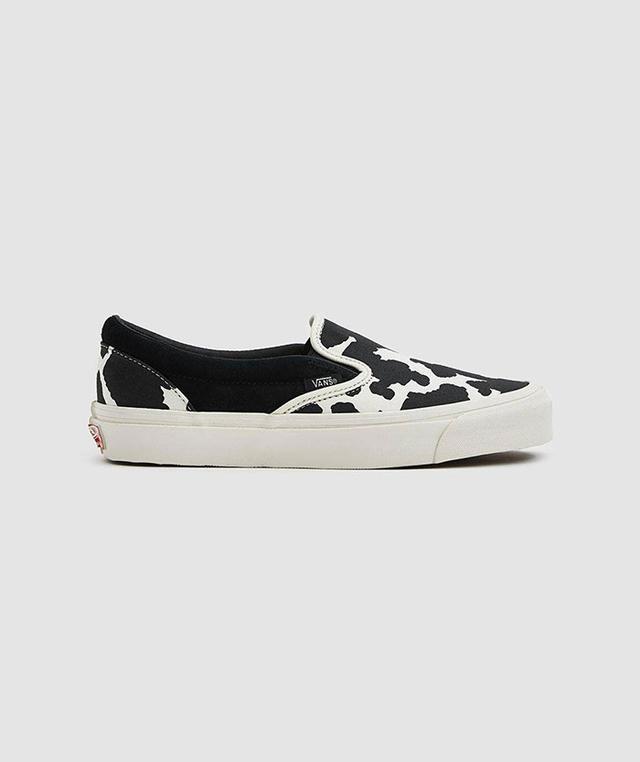 OG Classic Slip-On LX Sneaker in Cow Black/Cow