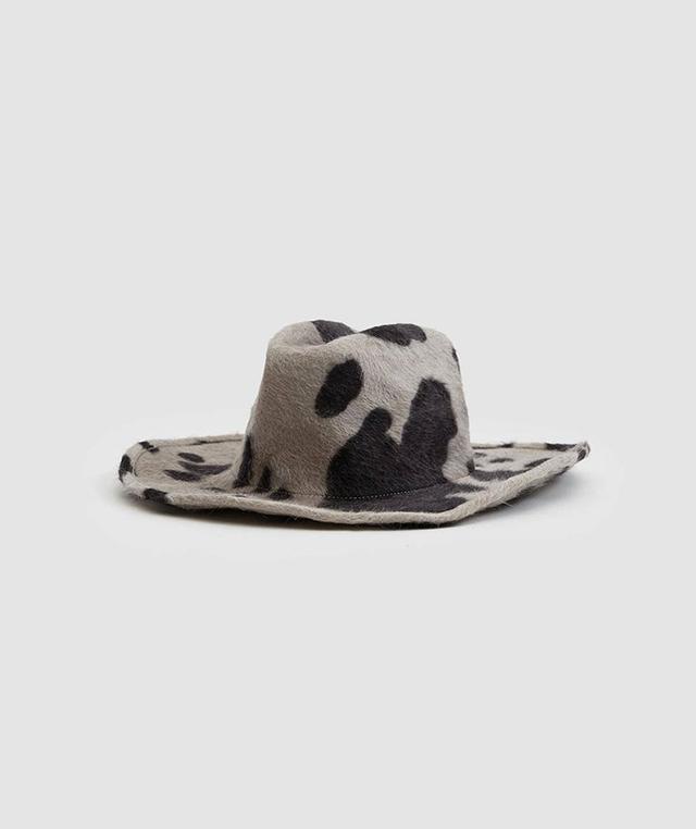Cowboy Hat in Cow Print