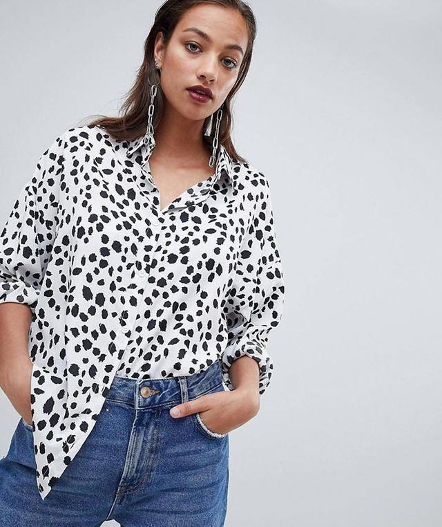 Dalmatian Print Shirt