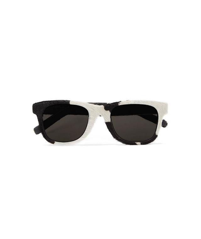 Classic 51 D-frame Pony Hair Sunglasses