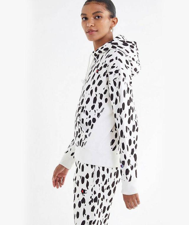 Champion & UO Animal Print Hoodie Sweatshirt