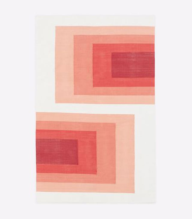 West Elm Optic Blocks Rug