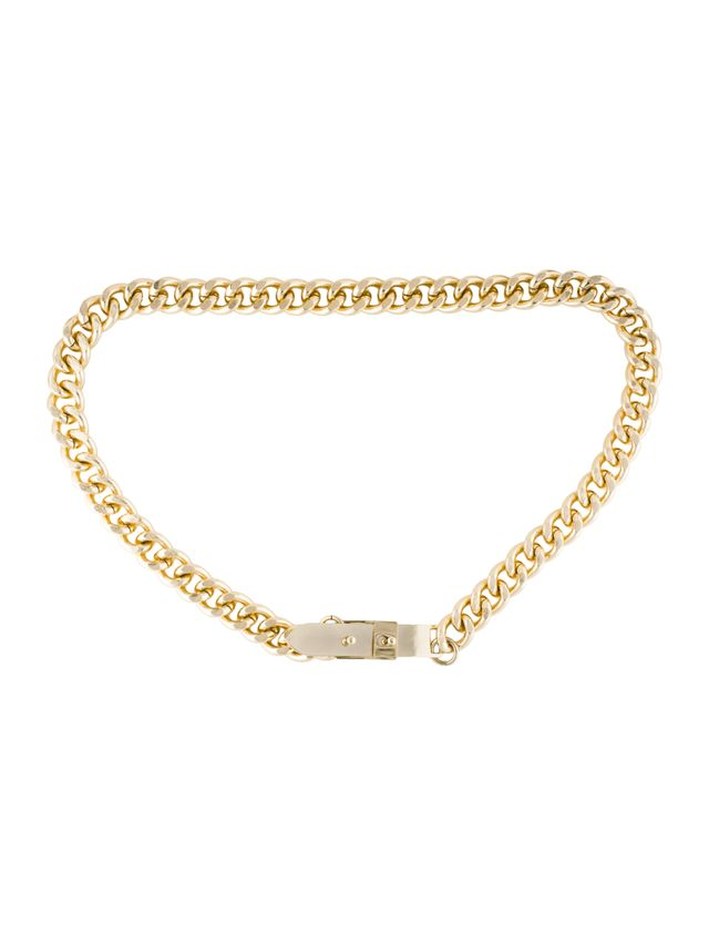 By Malene Birger Gold-Tone Chain-Link Belt