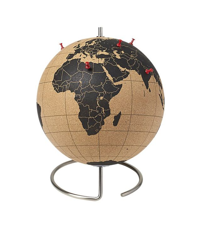 CB2 Cork Globe