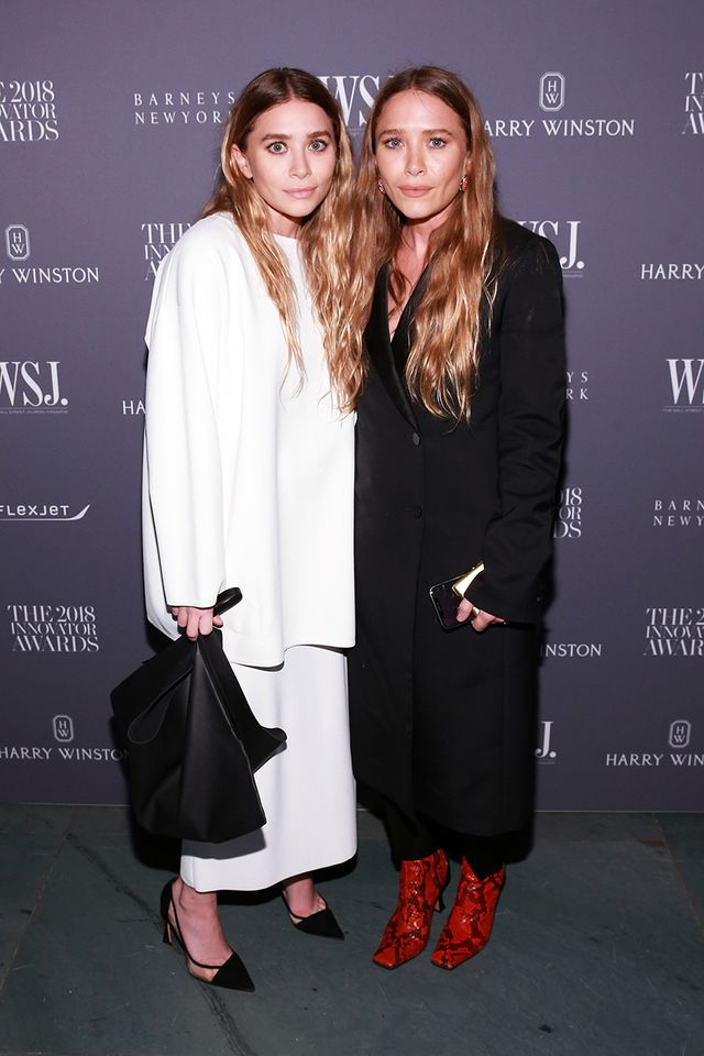 Ashley and Mary-Kate Olsen, red carpet