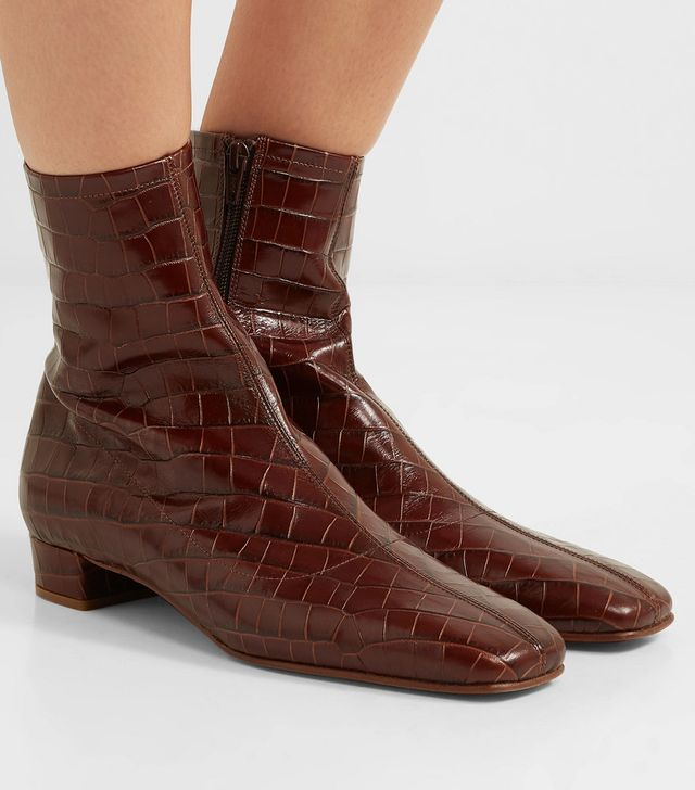 By Far Este Croc Boots