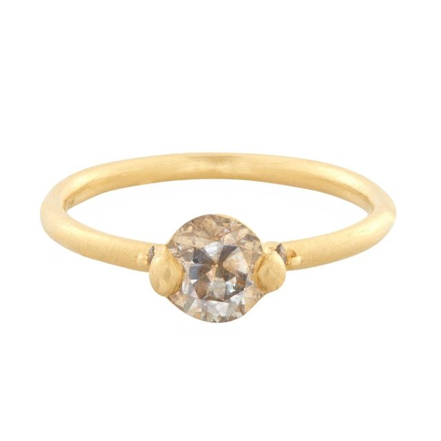 Polly Wales Coco Solitaire Ring