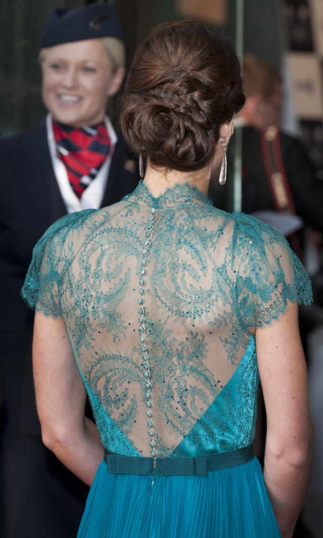Kate Middleton Sheer