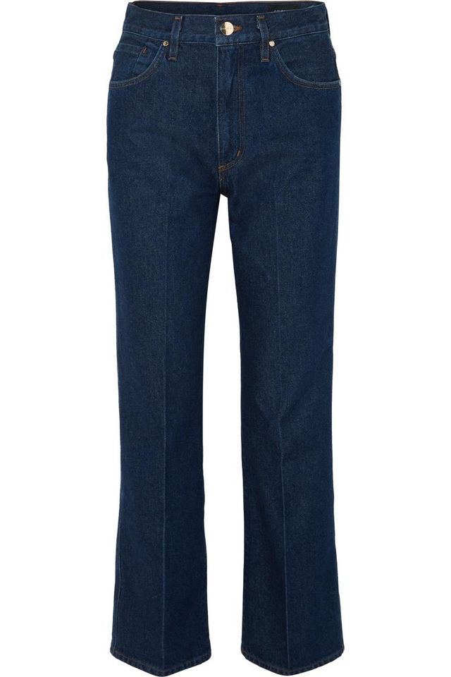 The A High-rise Straight-leg Jeans