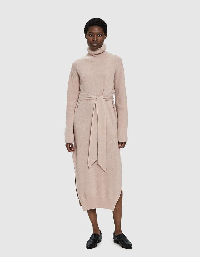 Canaan Knit Dress in Apple Blossom
