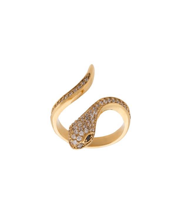 Skyfall Snake Ring
