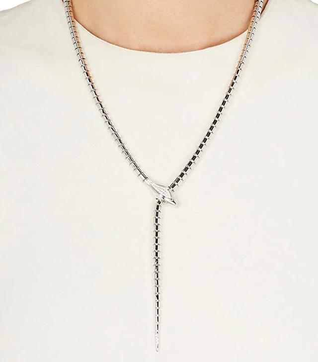 Snake Lariat Necklace