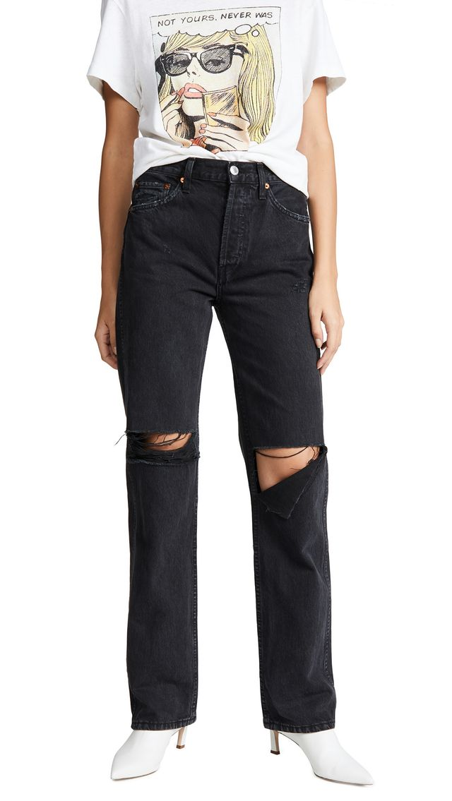 High Rise Loose Jeans