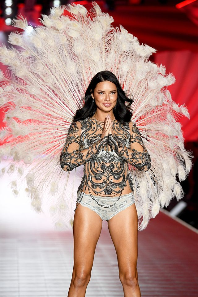 Adriana Lima Victoria's Secret Fashion Show 2018