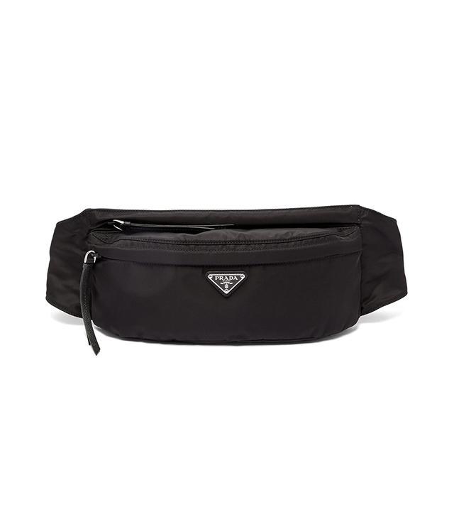 Prada Nylon Double Zip Belt Bag