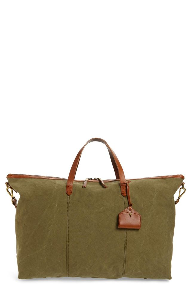 The Transport Canvas Weekend Bag Travel duffel bags