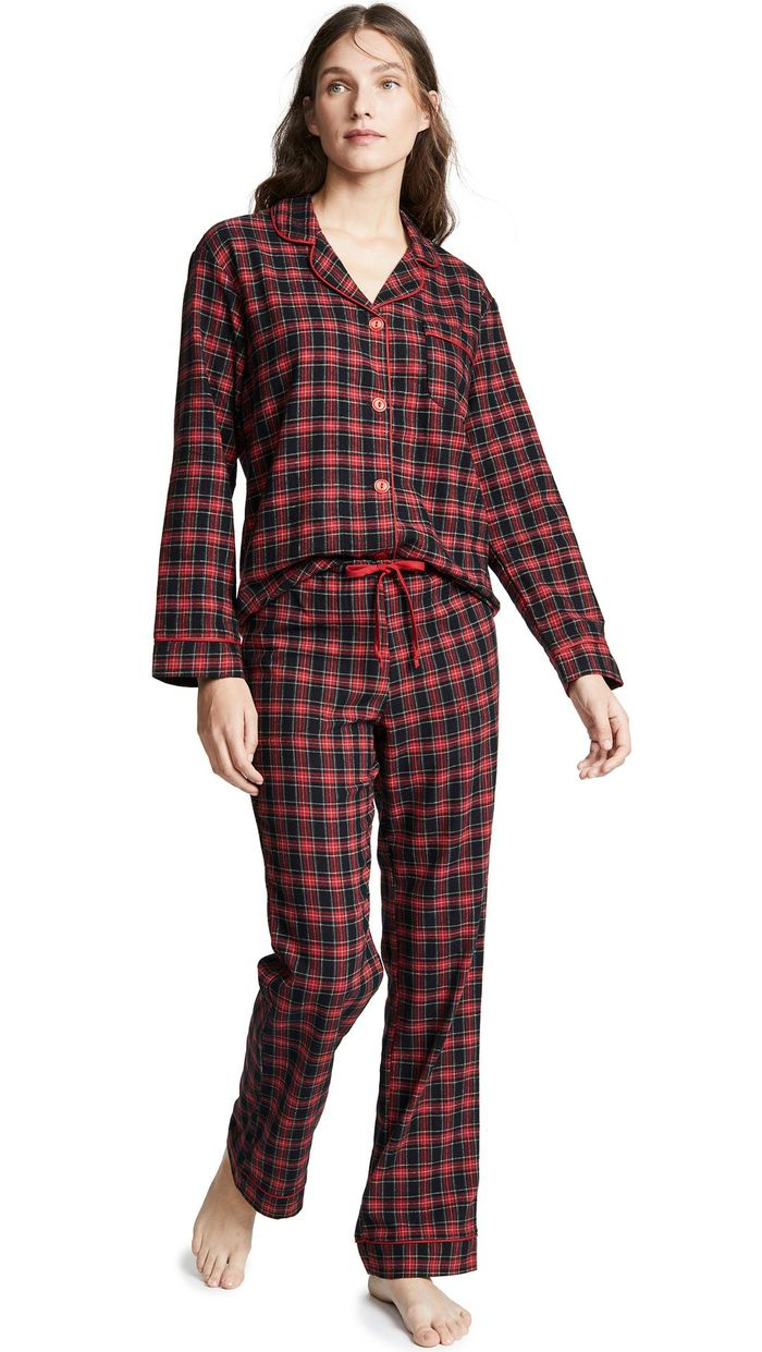 37699ba0e7e8f8 The 22 Best Flannel Pajamas to Get You Through Winter | Who What Wear UK