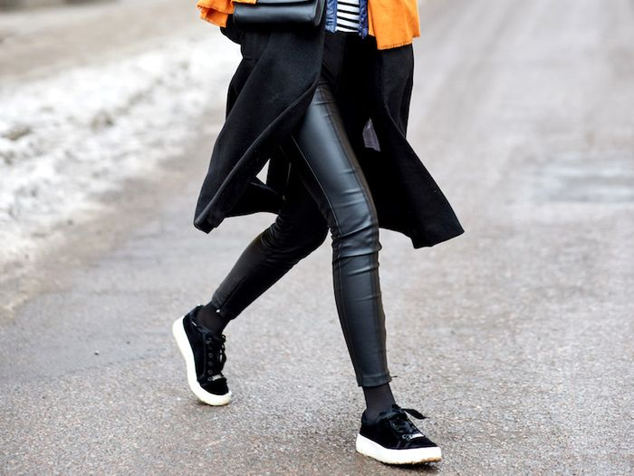 8fc6f4cf429c21 The 20 Best Faux-Leather Leggings of the Season | Who What Wear