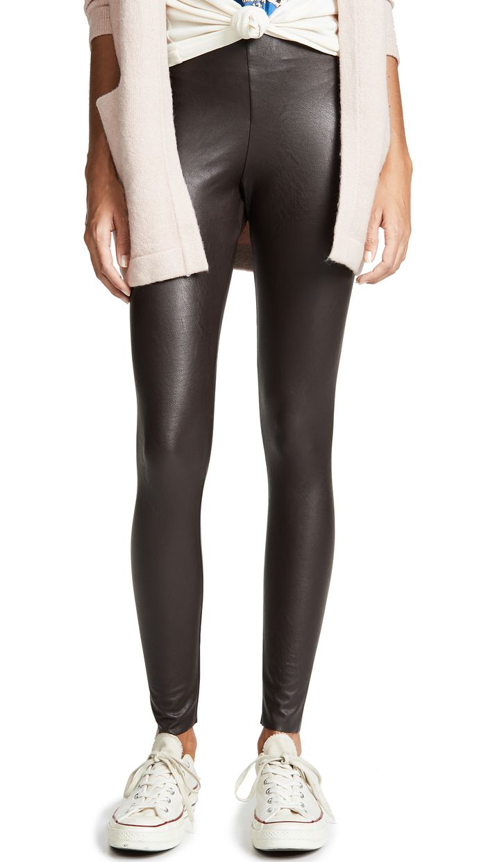 6a7194053e2e3 The 20 Best Faux-Leather Leggings of the Season | Who What Wear