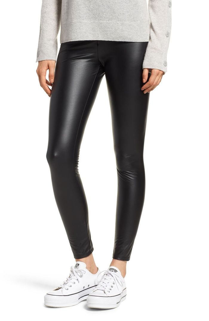 af0134da94678 The 20 Best Faux-Leather Leggings of the Season | Who What Wear