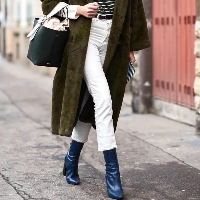 e87042c5146 Shop the Blue Ankle Boots Taking Over Our Must-Have Lists