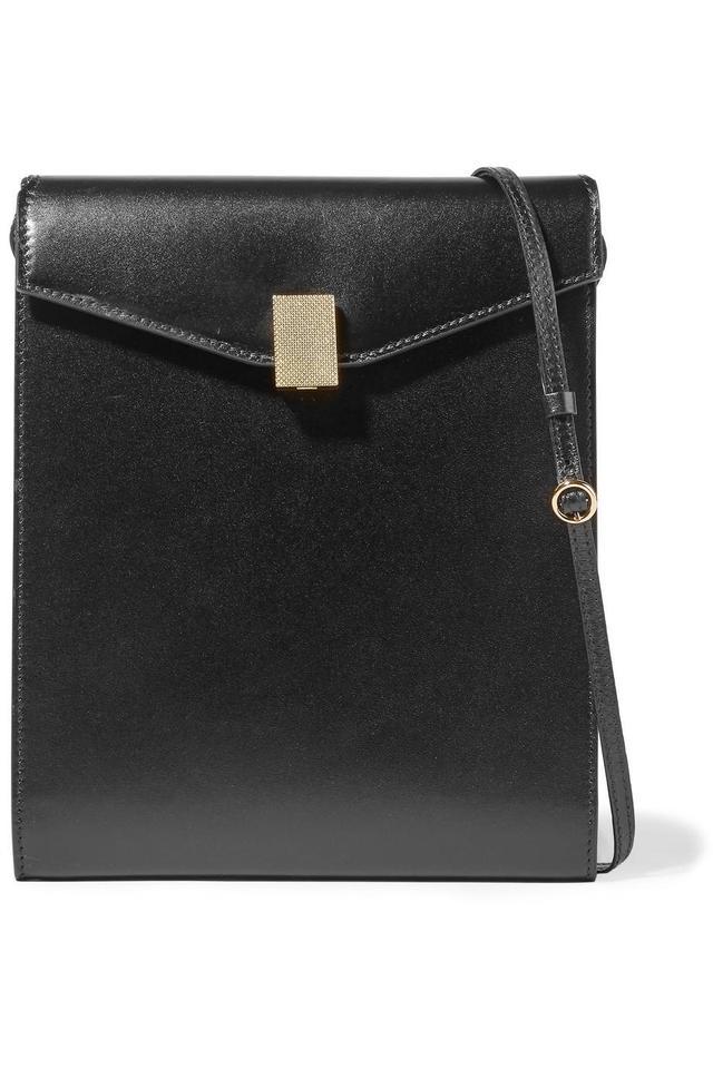 Victoria Beckham Postino Leather Shoulder Bag