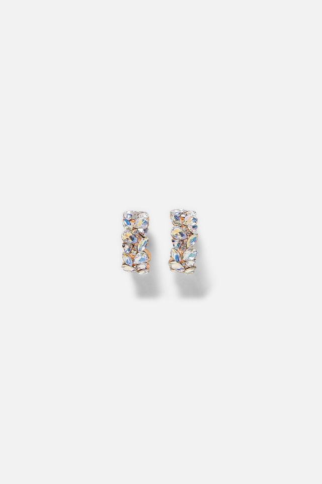 Zara Jewel Hoop Earrings