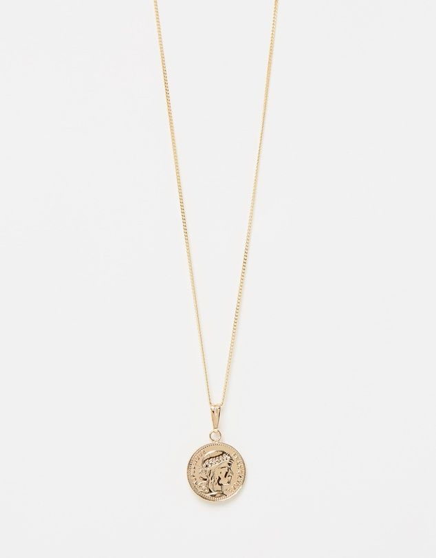 Reliquia Jewellery Mini Gold Coin Necklace
