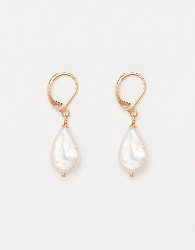 Reliquia Jewellery Mini Keshi Pearl Earrings