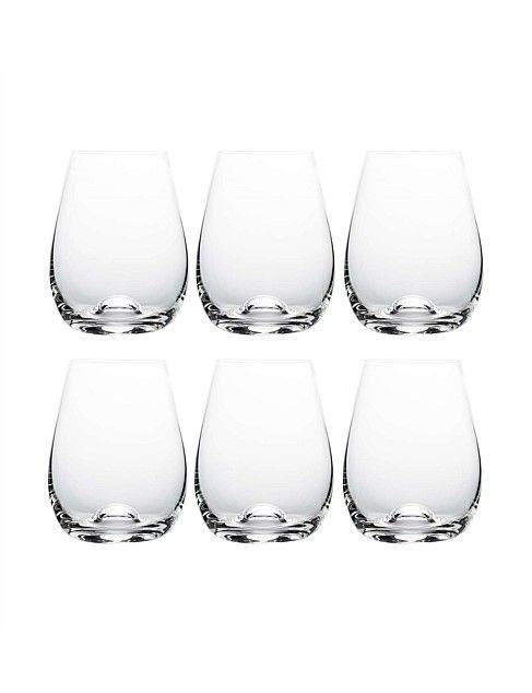 David Jones Capri Stemless Wine 460ml Bx6