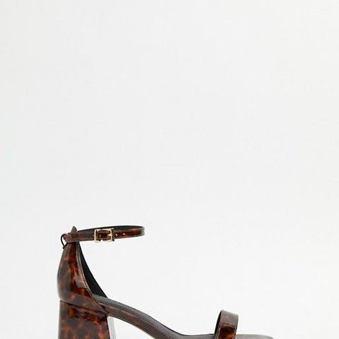 Honeydew heeled sandals