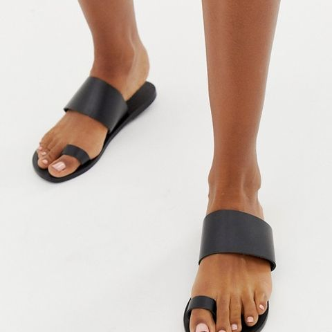 Faro Leather Toe Sandals