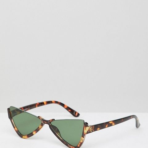 Plastic Butterfly Diamond Sunglasses