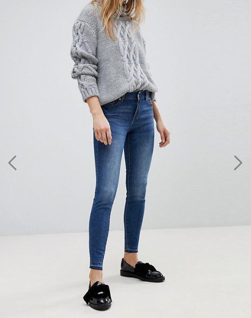 JDY Dark Wash Skinny Jeans