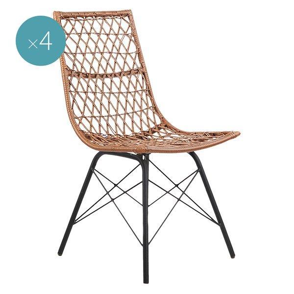 Gardeon Sania Outdoor Dining Chair (Set of 4)
