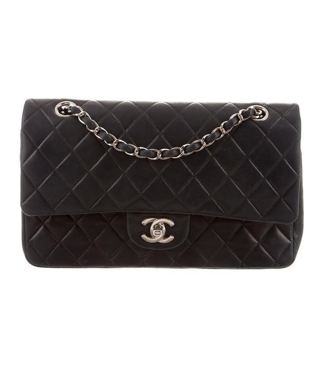 Chanel Vintage Classic Medium Double Flag Bag