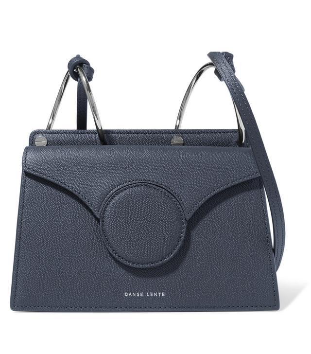 Danse Lente Phoebe Mini Textured-Leather Shoulder Bag