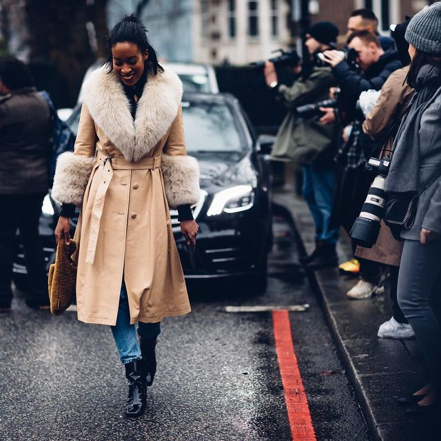 <p>The coat does all of the heavy lifting here.</p>