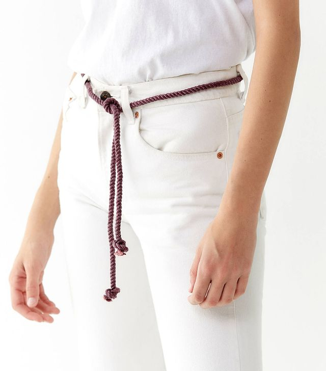 Urban Renewal Remade Recycled Tie Rope Belt
