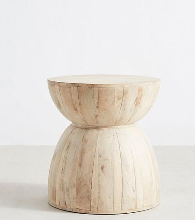 Betania Side Table, Hourglass