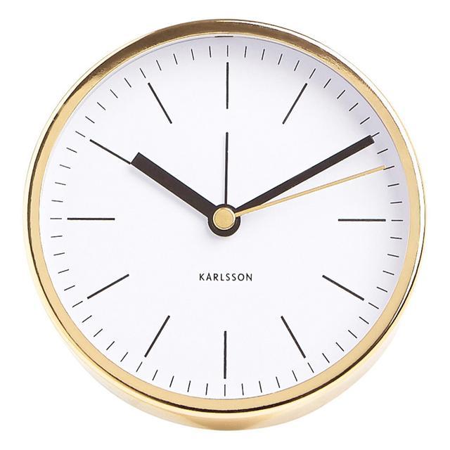 kikki.K Karlsson Desk Clock: Gold