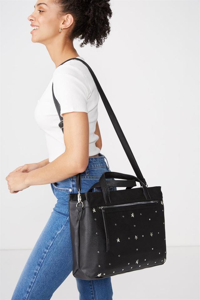 Typo Laptop Tote Bag