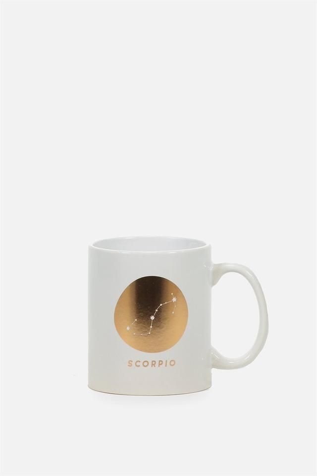 Typo Zodiac Mug