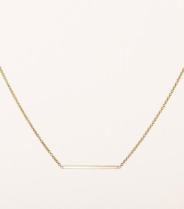 Vrai & Oro Line necklace