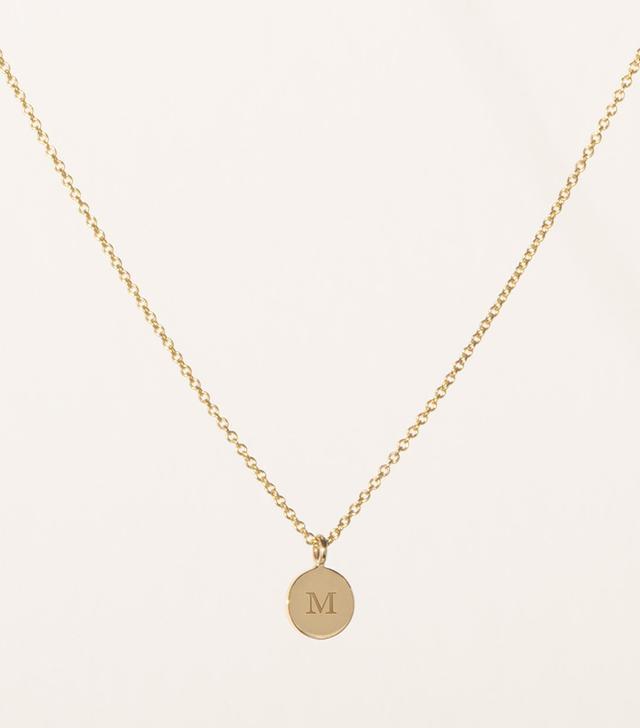 Vrai & Oro Initial Necklace
